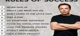 Elon Musk'ın Başarılı Olmak İçin 10 Kuralı Nedir?