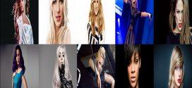 En Çok Kazanan Kadın Şarkıcılar 2018