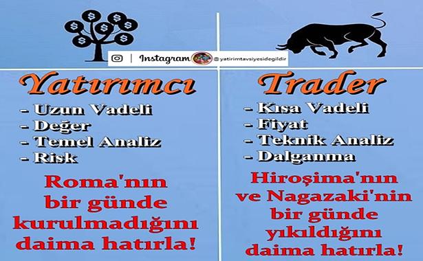 yatırımcı trader farkı