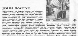 John Wayne Yılbaşı Anısı