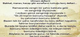 Osmanlı'dan Gelen Hoş Bir Adet Zimem Defteri
