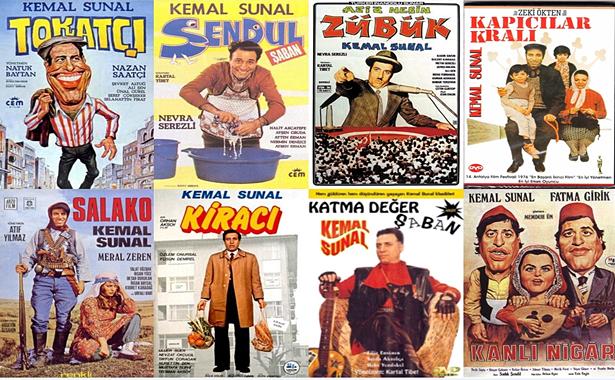 Kemal Sunal Filmleri Dizileri