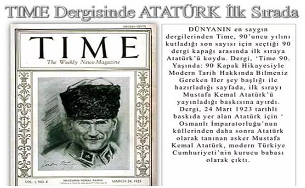 Time Dergisi Kapak Resmi Atatürk