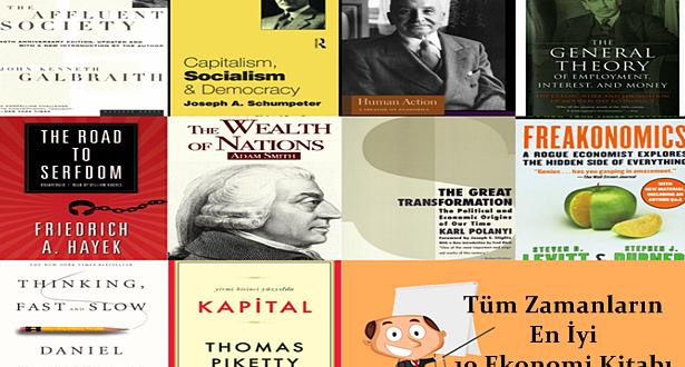Tüm Zamanların En İyi 10 Ekonomi Kitabı