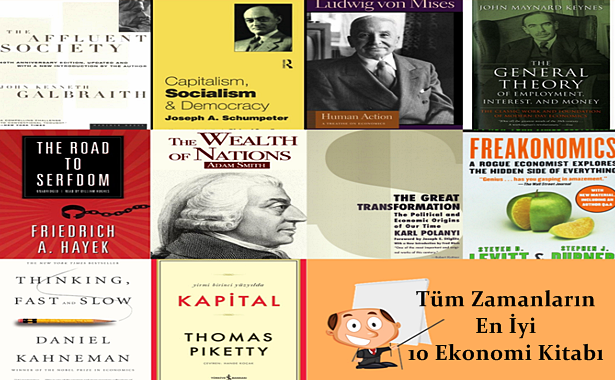 Tüm Zamanların En İyi 10 Ekonomi Kitabı Listesi