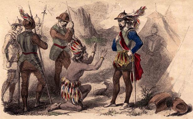 İnka Atahualpa Cajamarca