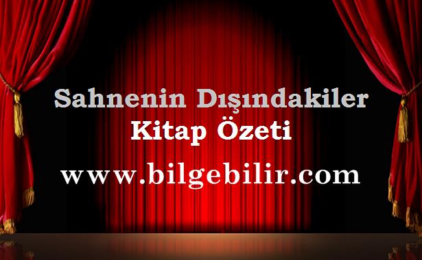 Ahmet Hamdi Tanpınar Sahnenin Dışındakiler