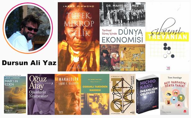 Dursun Ali Yaz Kitap Tavsiyeleri