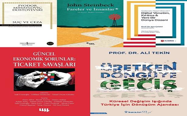 Mahfi Eğilmez Kitap Tavsiyeleri Ekim 2020
